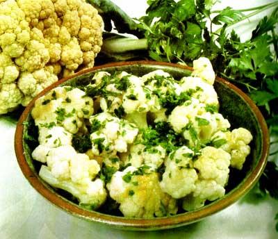 ensala de coliflor