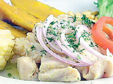 cebiche de pollo