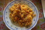 Imagen: Arroz amarillo con calamares