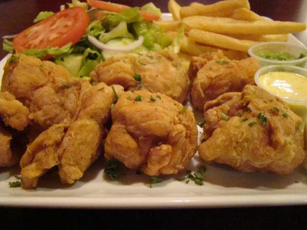 chicharron de pollo