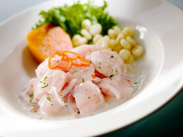 ceviche de pescado