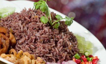 arroz con aceitunas y mariscos
