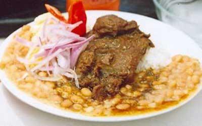 Recetas de cocina peruana frejolada de pato